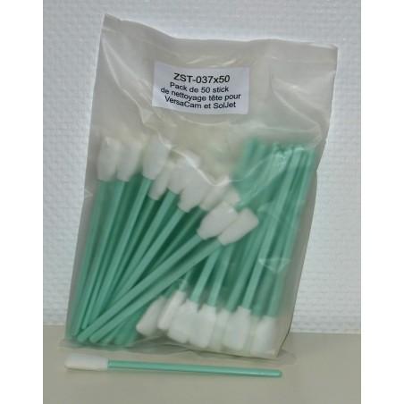 Pack de 50 sticks Roland : nettoyage tête d'impression