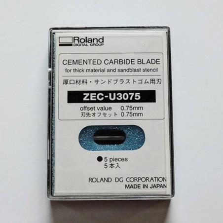Lame ZEC-U3075 (matériaux épais) - Offset 0,75mm