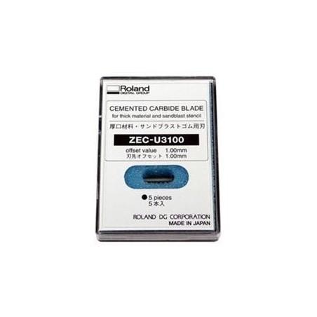 Lame ZEC-U3100 (matériaux épais) - Offset 1,00 mm