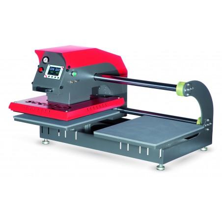 SECABO TPD7 400x500 - Presse pneumatique double plateau à ouverture automatique