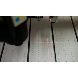pointeur laser pour l'origine