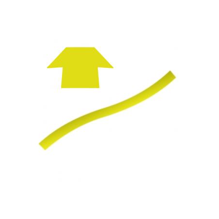 Cordon en Silicone jaune en 'T' (10m)