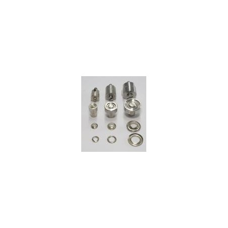 Matrice de sertissage 8 mm pour œillets métalliques
