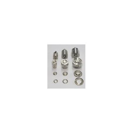 Matrice de sertissage 12 mm pour œillets plastique