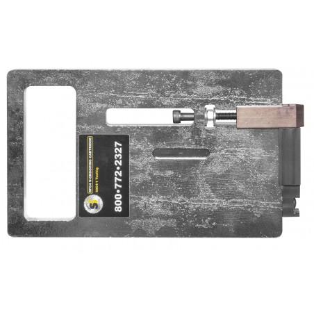 Cassette avec lame pour rainures en V  (pour alubond, panneaux alvéolés, ...)