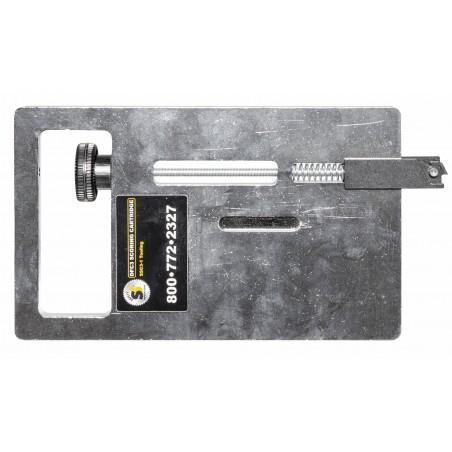 Cassette avec lame pour rainurer (pour acrylique, plexiglas, ...)