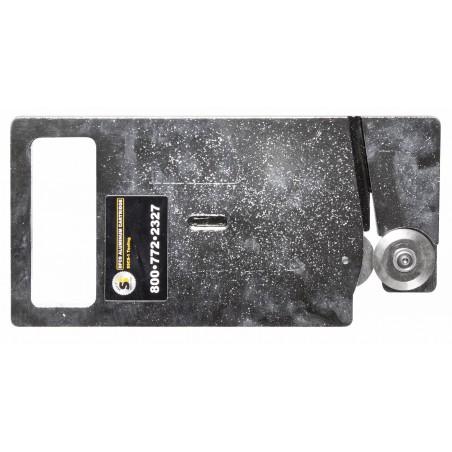 Cassette avec lame en aluminium pour couper panneaux composites