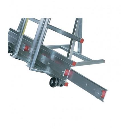 Jeu de rallonges pour le châssis de la machine, jusqu'à 4050 mm de longueur de coupe