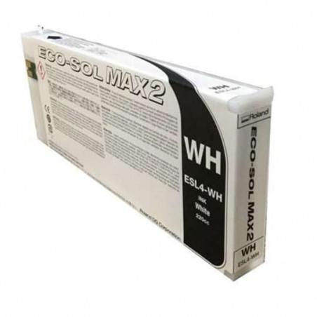 Encre Roland Ecosolmax 2 (Blanc-220ml) (ESL4-WH)