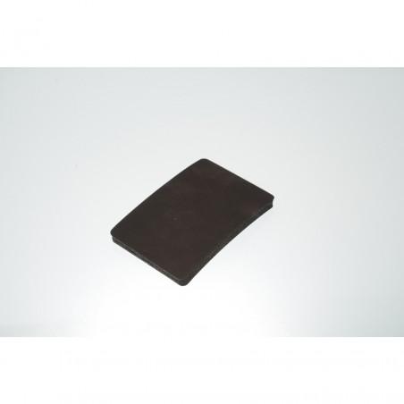 Coussin 8cm x 12cm en mousse de silicone épaisseur 10mm pour plaque amovible pour presses transfert