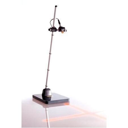 Laser de positionnement socle sur sol avec deux diodes