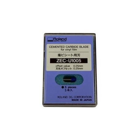 Lame ZEC-U1005 (vinyle standard) (embout bleu)-- Offset 0.25 mm / Angle 45°