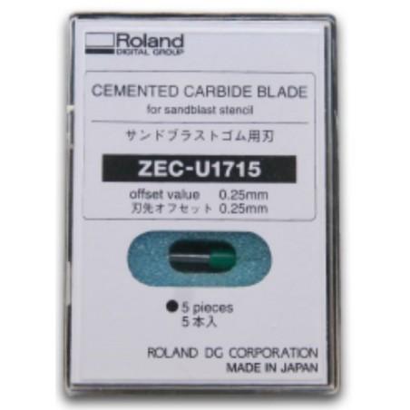 Lame ZEC-U1715 (boite de 5 lames) (embout Vert)