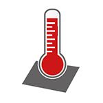 Répartition exacte de la température